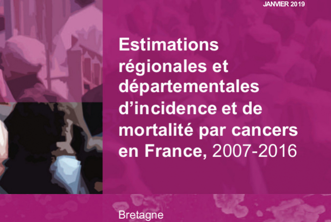 Estimations d'incidence et de mortalitépar cancers en Bretagne 2016