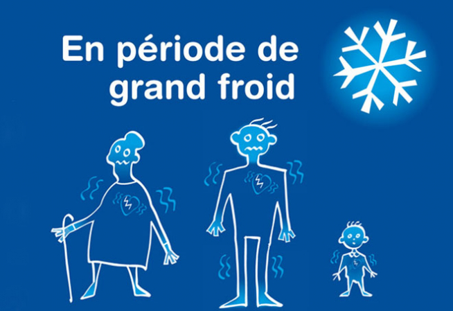 une grand froid