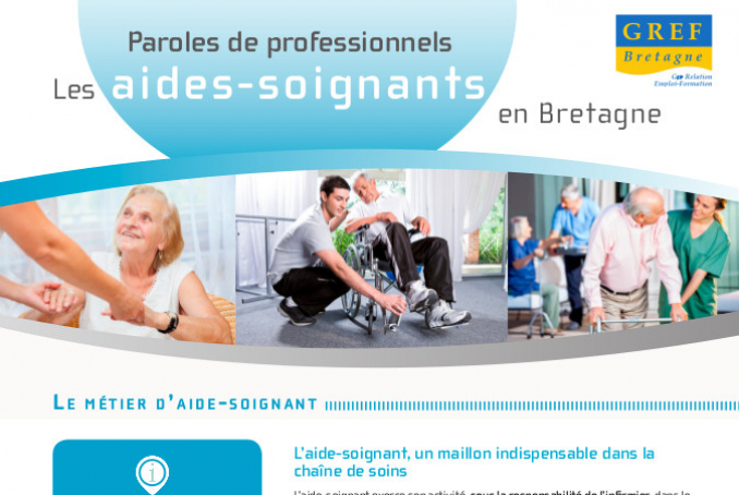 Aides-Soignants - Paroles de professionnels - 2015 (GREF)