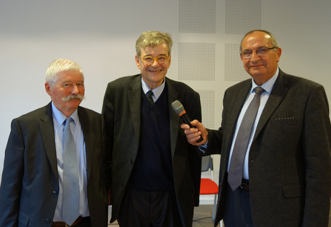 Bernard Gaillard, Pascal Jacob et Claude Laurent
