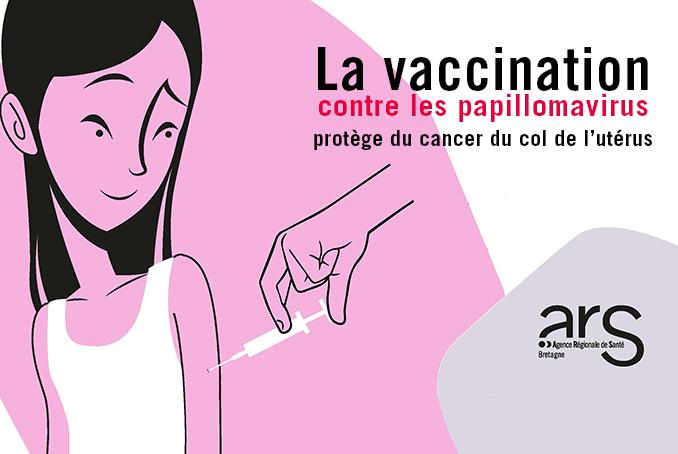 vaccin papillomavirus et rapport